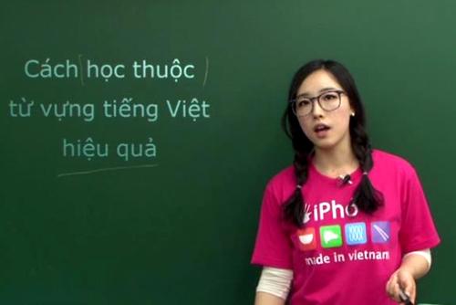Teaching Vietnamese to Korean