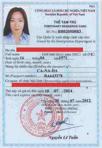 Dịch thuật hồ sơ tạm trú chuyên nghiệp