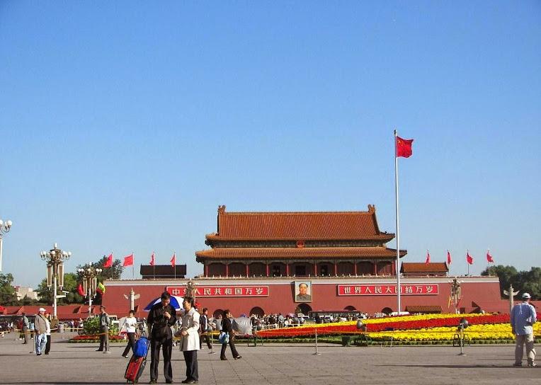 Hướng dẫn viên tại Trung Quốc