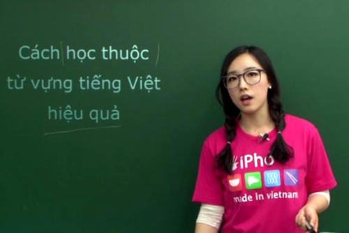 day tieng viet cho nguoi han quoc