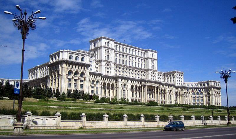 Tòa nhà Quốc hội, Bucharest
