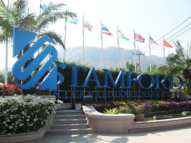 Trường đại học quốc tế ở Thái Lan stamford