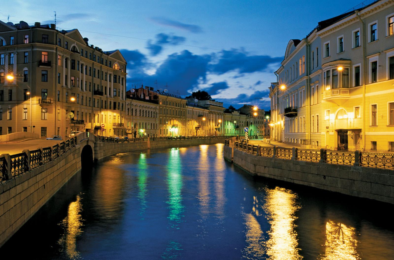Thành phố Saint Petersburg ở Nga