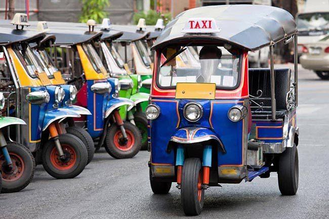 taxi thai lan
