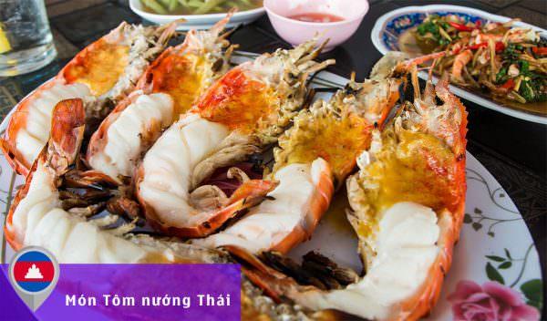 Món Tôm nướng Thái Lan