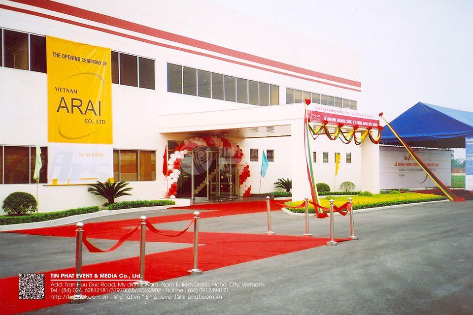 Dịch thuật cho công ty Arai Việt Nam